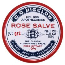 C.O. Bigelow Rose Salve Tin - No. 012