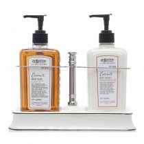 C.O. Bigelow Handwash/BodyLotion Caddy - Coconut