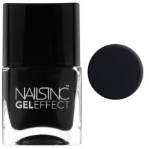 Nails inc Gel Effect Nail Polish - Black Taxi