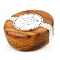 DR Harris Shaving Soap with Mahogany Wood Bowl-Arlington
