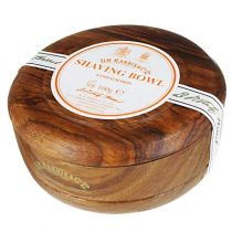 DR Harris Shaving Soap with Mahogany Wood Bowl-Sandalwood