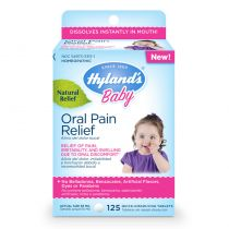 Hylands Baby Oral Pain Relief Tablets