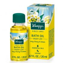 Kneipp Bath Oil - May Chang & Lemon / Enjoy Life .67 oz