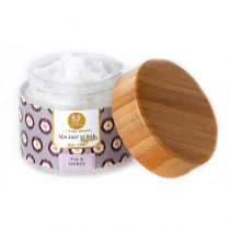 Soap and Paper Factory Mission Grove - Sea Salt Scrub - Fig & Honey