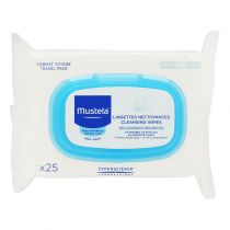 Mustela Facial Cleansing Clothes - 25ct