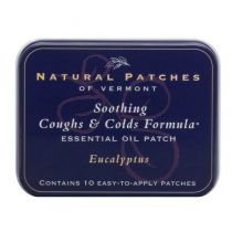 Natural Patch Eucalyptus Soothing Coughs and Colds Formula Patch
