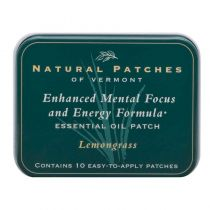 Natural Patch Lemongrass Enchanced Mental Focus and Engery Formula Patch