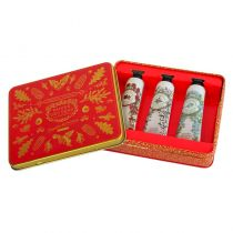 Panier Des Sens Christmas Tin Set - Hand Creams - 1 oz  x 3