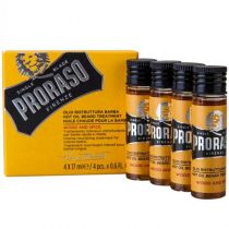 Proraso Single Blade -Beard Hot Oil- Wood & Spice