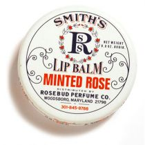 Rosebud Perfume Co. Minted Rose Lip Balm (Tin)
