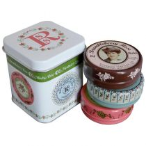 Rosebud Perfume Co. Three Luscious Layers of Lip Balm (Gift Tin)
