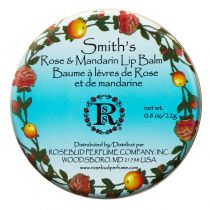 Rosebud Perfume Co. Rose and Mandarin Lip Balm (Tin)