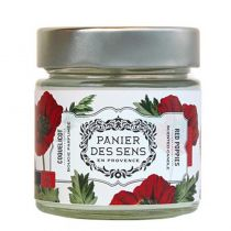 Panier Des Sens Scented Candle - Red Poppies