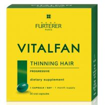 Rene Furterer Vitalfan - Dietary Supplement for Thinning Hair - Progressive