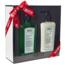 C.O. Bigelow Body Cleanser/Body Lotion Gift Set - Rosemary Mint