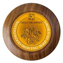 Geo. F. Trumper Shaving Soap with Wood Bowl - Sandalwood