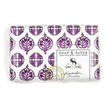 Soap and Paper Factory Petite Luxe Shea Butter Soap - Lavender