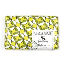 Soap and Paper Factory Petite Luxe Shea Butter Soap - Verbena