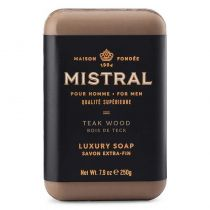 Mistral Men's Soap Men's Teak Wood