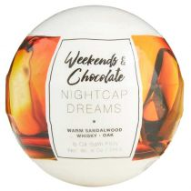 Weekends & Chocolate 8 Oil Bath Fizzy - Nightcap Dreams
