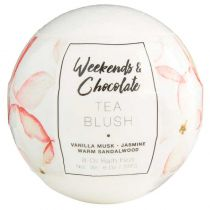 Weekends & Chocolate 8 Oil Large  Bath Fizzy - Tea Blush