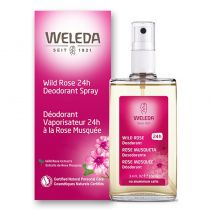 Weleda Natural Deodorant Spray - Wild Rose - 3.4 fl oz.