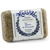 French Soap - Exfoliating Lavender Flower