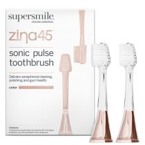 Supersmile Zina45 - Replacement Heads Two Pack - Rose Gold