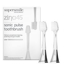 Supersmile Zina45 - Replacement Heads (Two Heads) - Silver