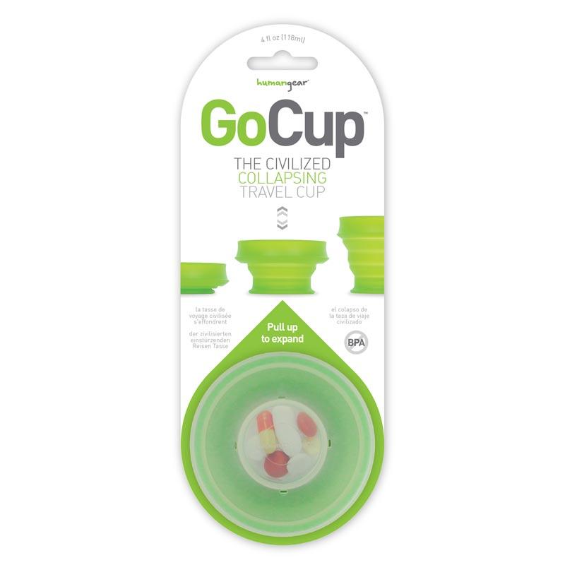 Humangear - GoCup - Collapsing Cup - 4 oz goc4