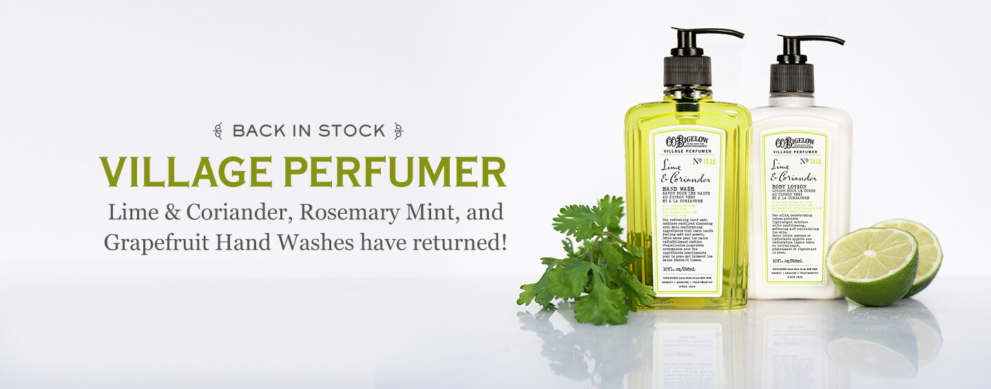 Village Perfumer Back In Stock