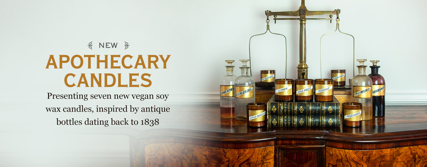 Our New Apothecary Candles