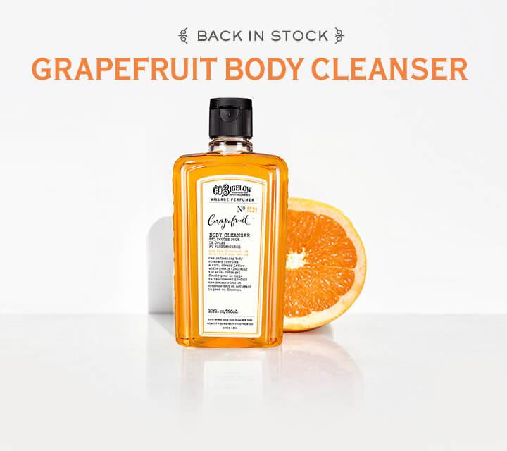 Back In Stock: Bigelow Grapefruit Cleanser