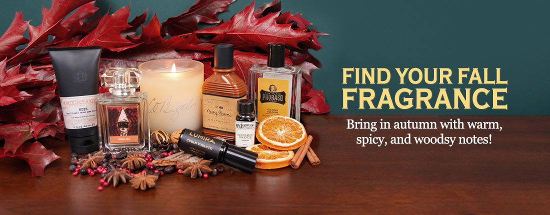 Find Your Fall Fragrance