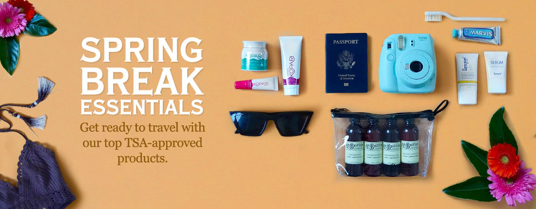 Get Ready To Travel With our Top TSA Approved Products
