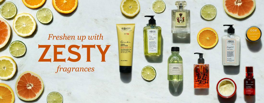 Freshen Up With Zesty Fragrances