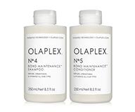 OLAPLEX restores damaged and compromised hair